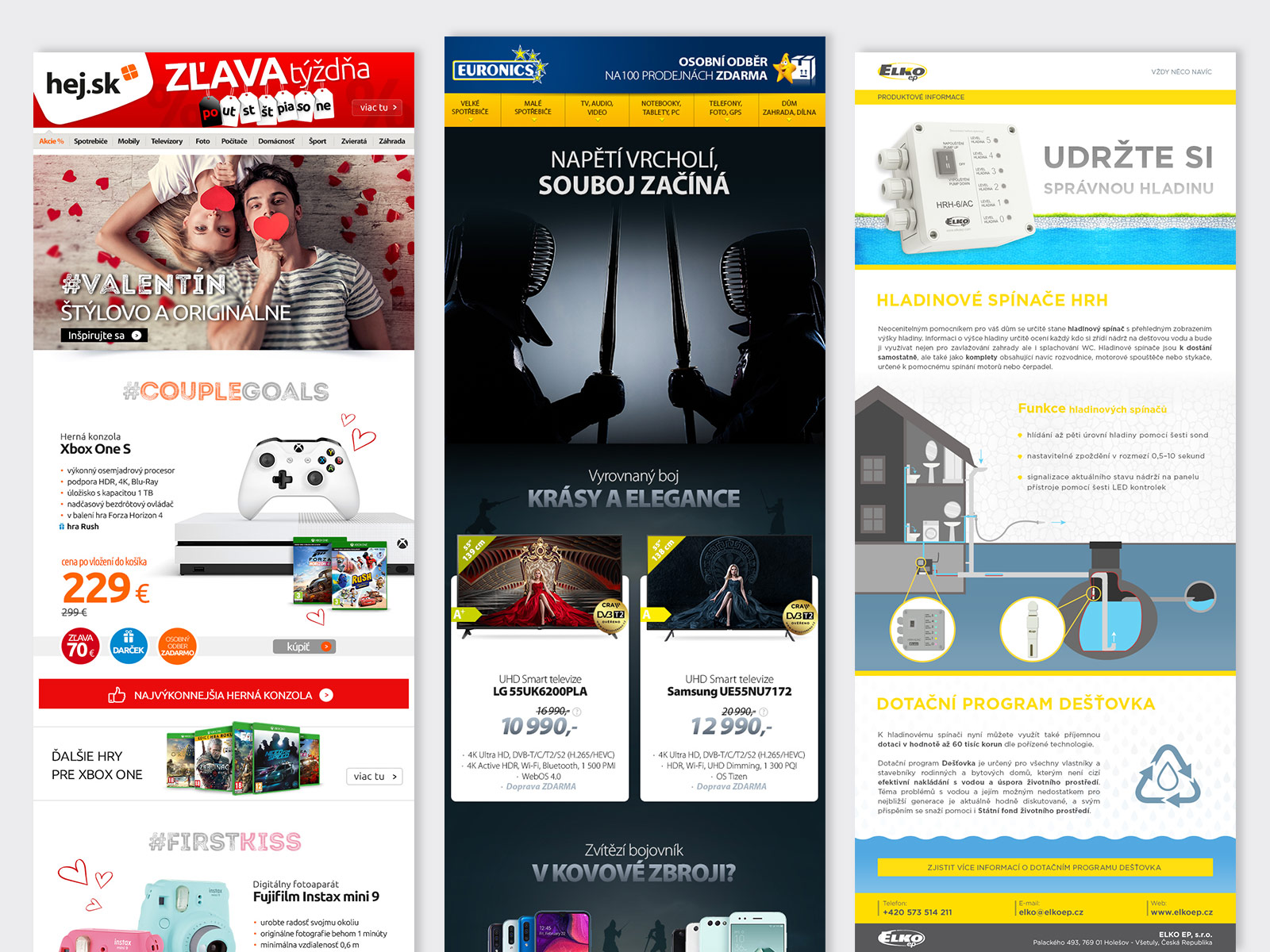 WhiteDesigns.cz - Grafické zpracování newsletterů